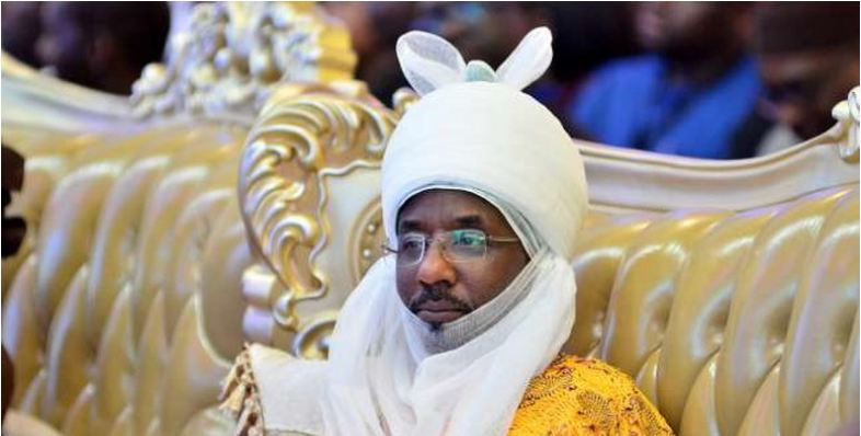 Dethroned Emir Sanusi