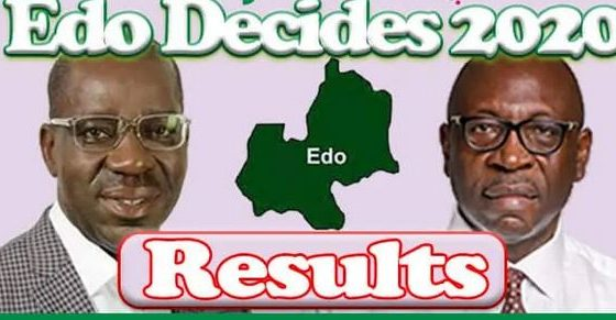 Breakdown Of Edo Election Results From LGAs