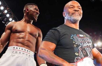 Mike Tyson Fury vs Joshua
