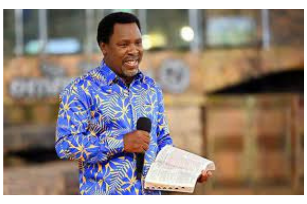 COVID-19: Lets be our brothers keeper - T.B Joshua